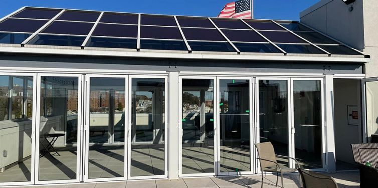 Green House – Glass/Solar Roof – Queens Boulevard, NYC